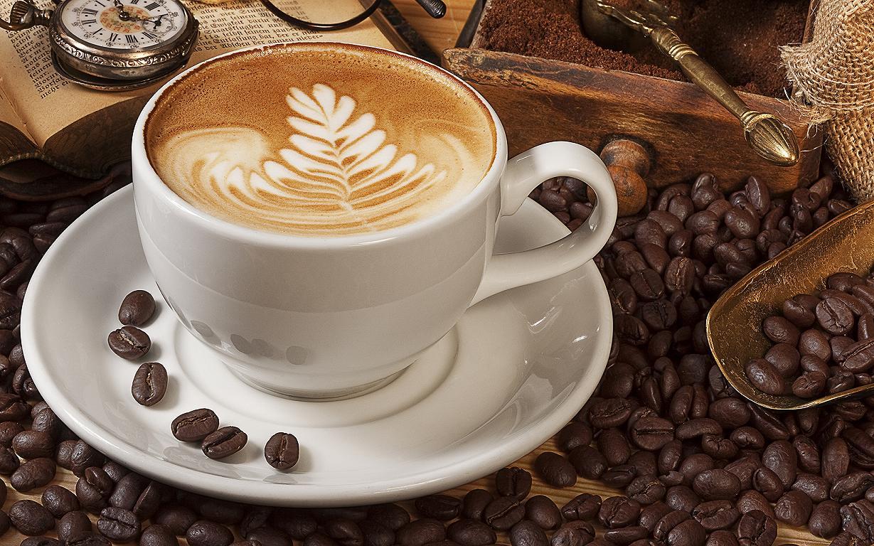Hình ảnh ly cà phê Cappuccino