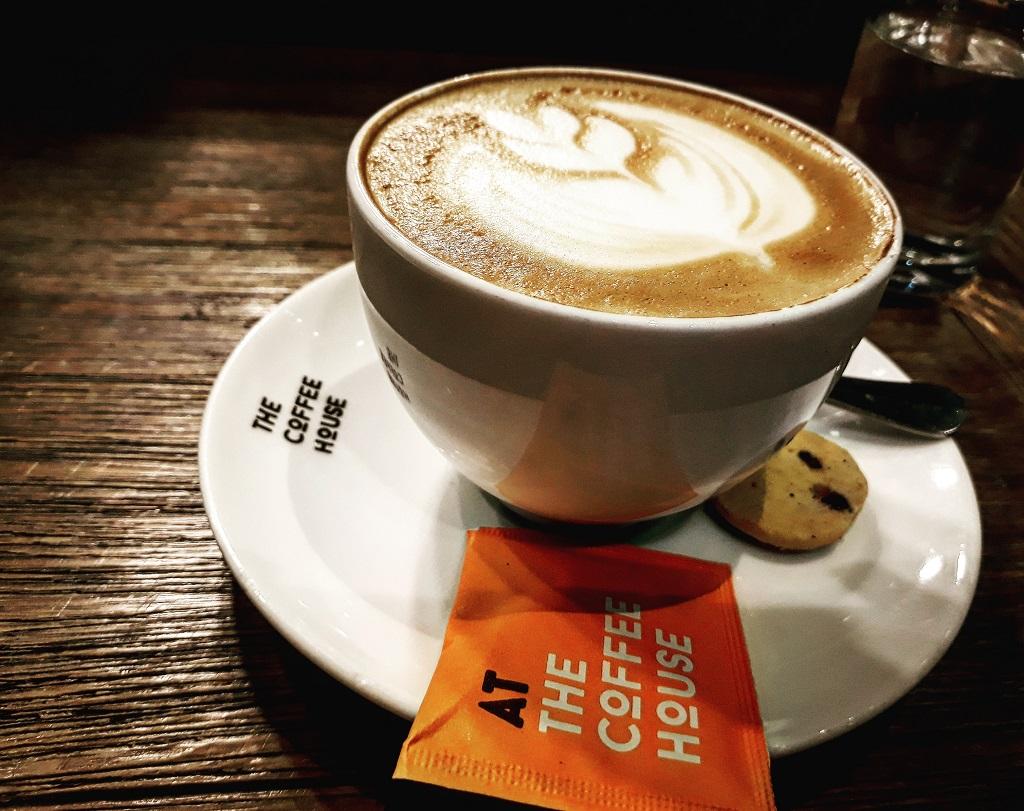 Hình ảnh thực tế 1 ly Cappuccino
