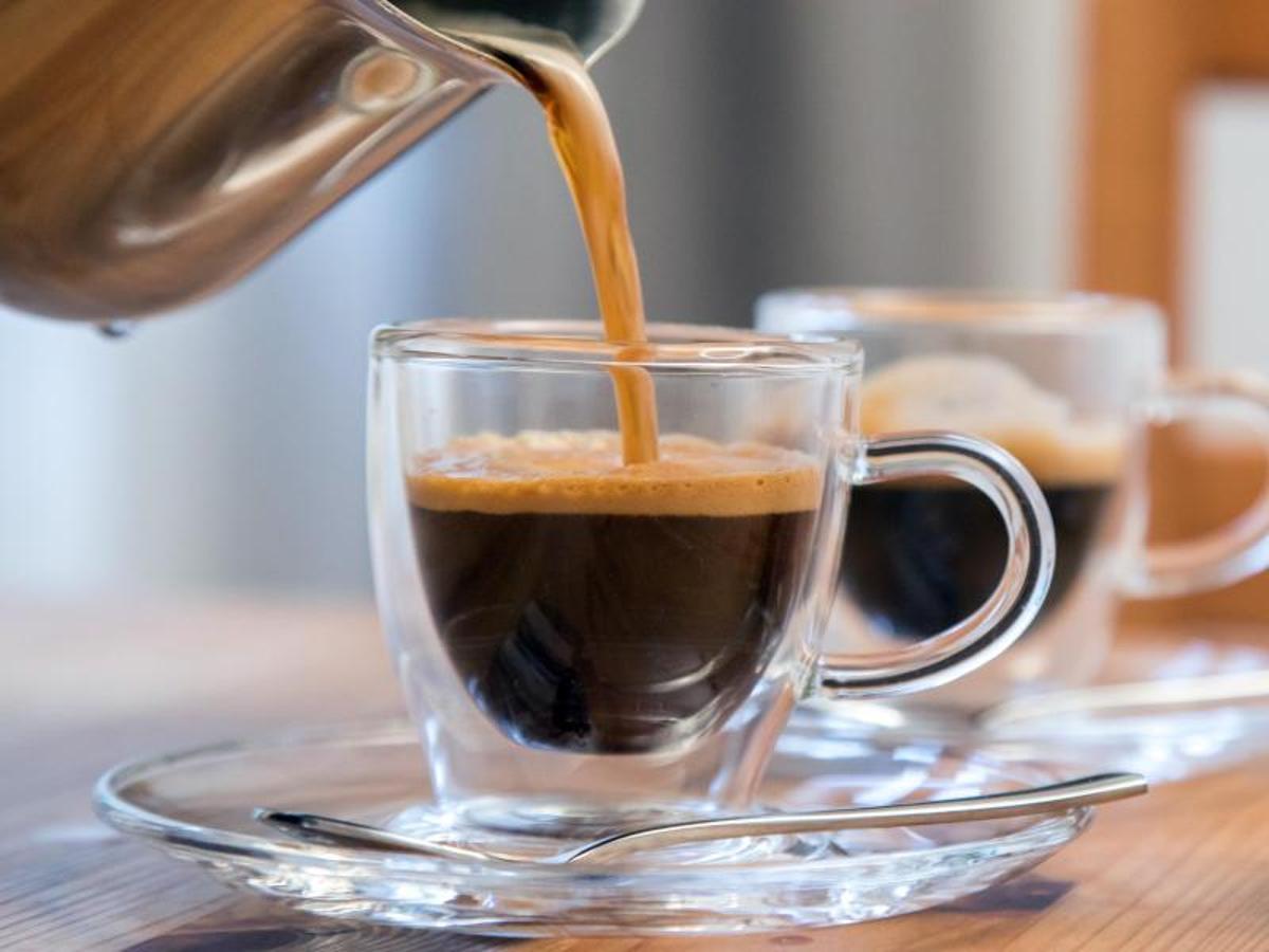 Hình ảnh thực tế ly cà phê Espresso