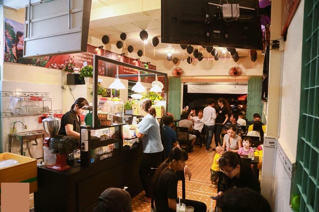 Hình ảnh thực tế quán cafe