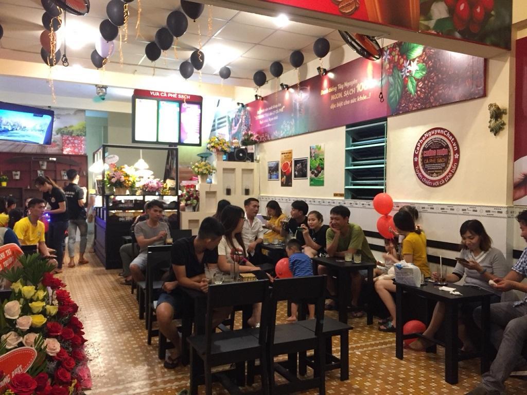 Mở Quán Kinh Doanh Cafe