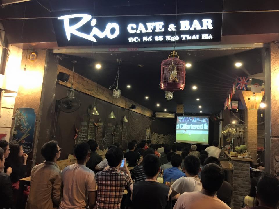 Hình ảnh Quán cafe bóng đá