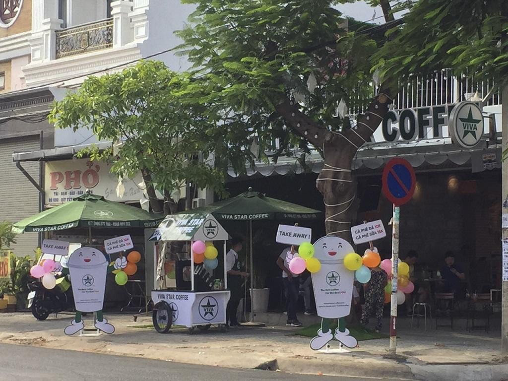 Địa điểm quán Cà phê take away