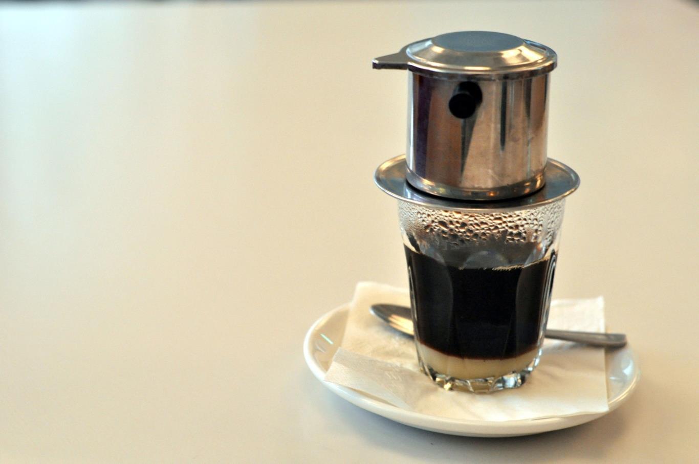 Phin Pha Cafe bằng inox