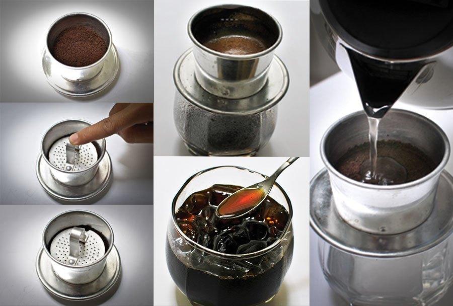 Hướng dẫn cách pha phin cà phê
