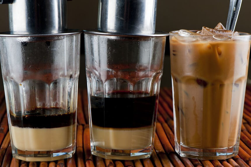Cà phê sữa chứa bao nhiêu calo