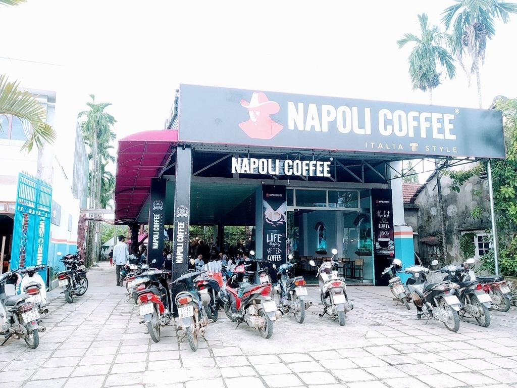 Nhượng quyền cà phê Napoli Cafe
