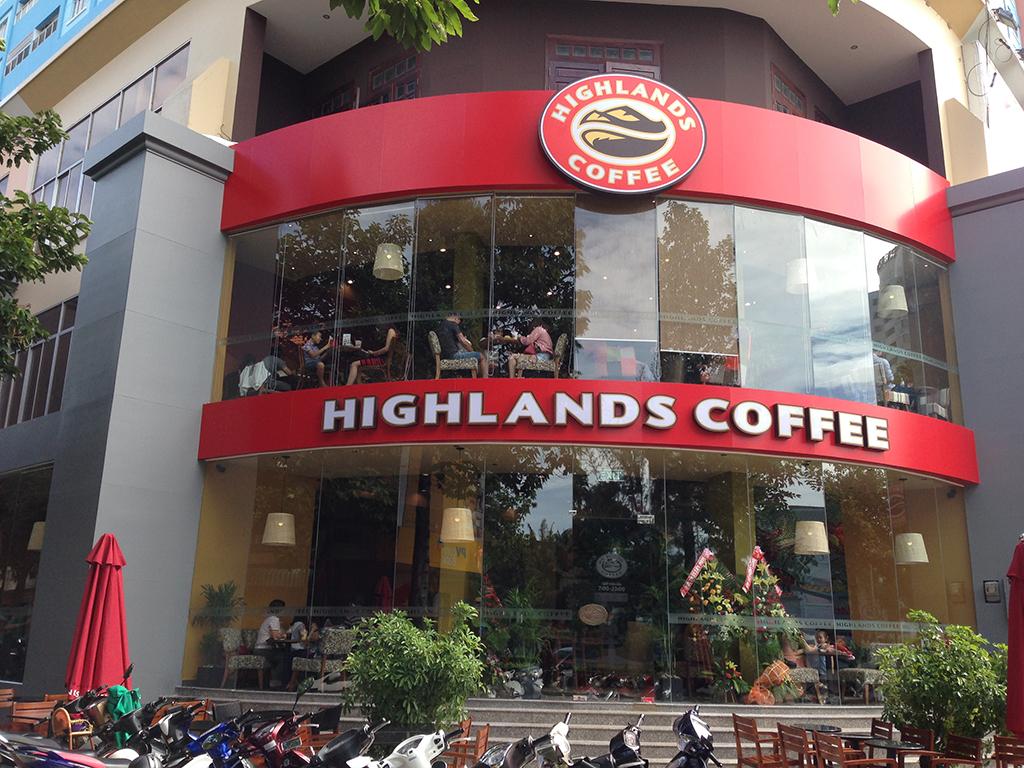 Nhượng quyền cà phê Highlands Coffee