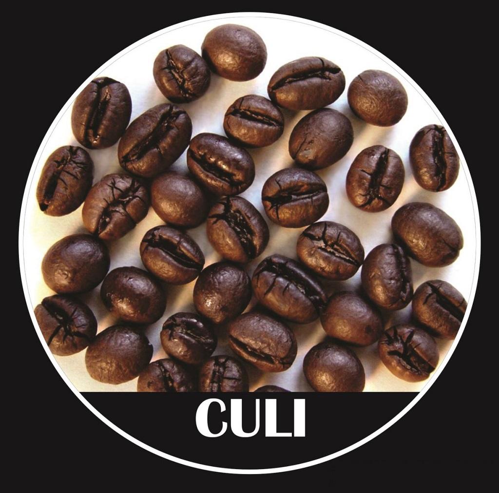 Hình ảnh hạt Cà phê Culi