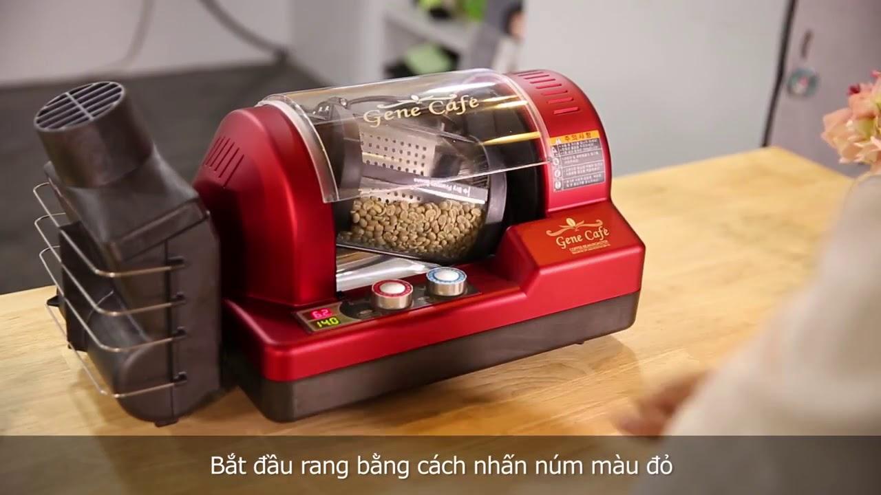 Máy rang cà phê Gene CBR-101 Hàn Quốc