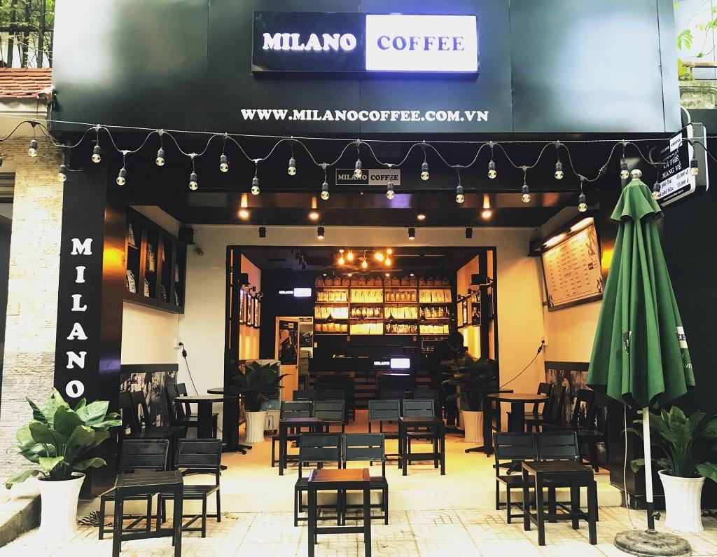Nhượng quyền Cà Phê Milano