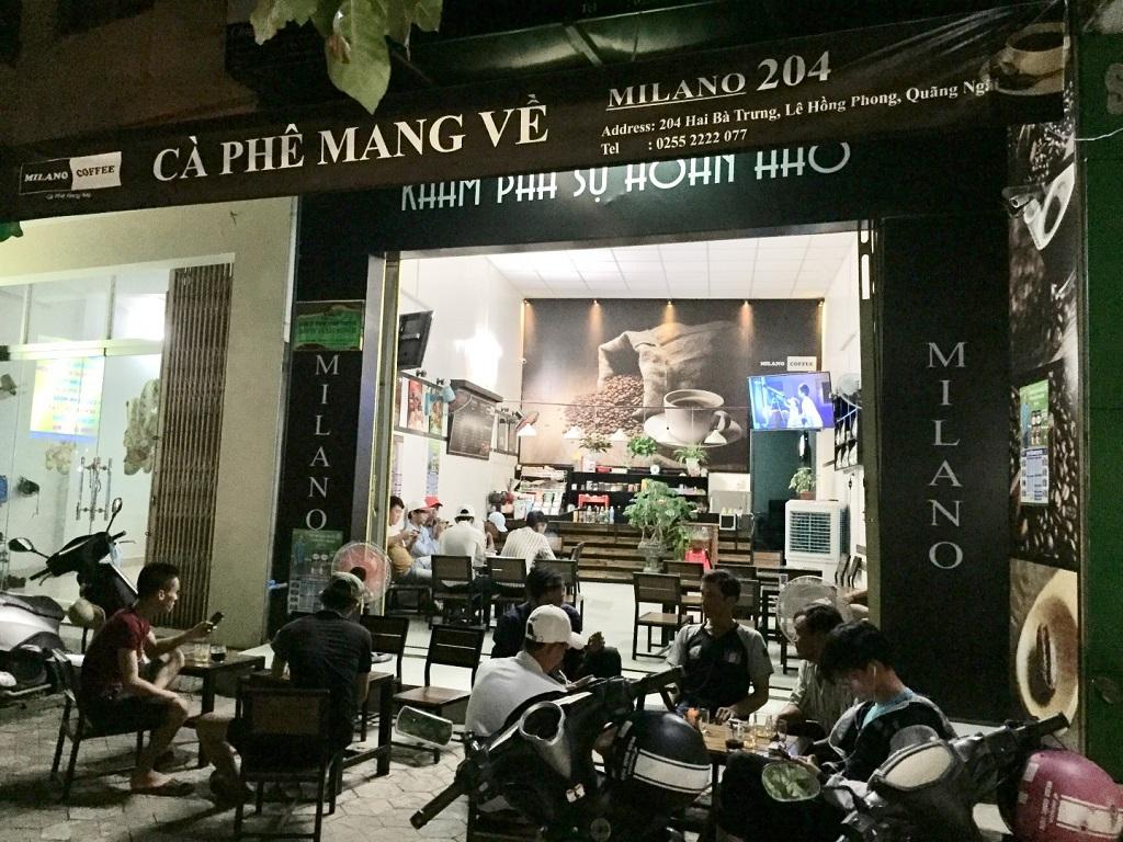 Chi phí mở quán Cà Phê Milano