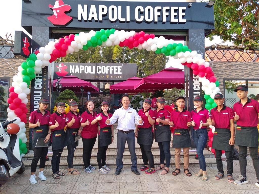 Quy trình Nhượng quyền Napoli Coffee