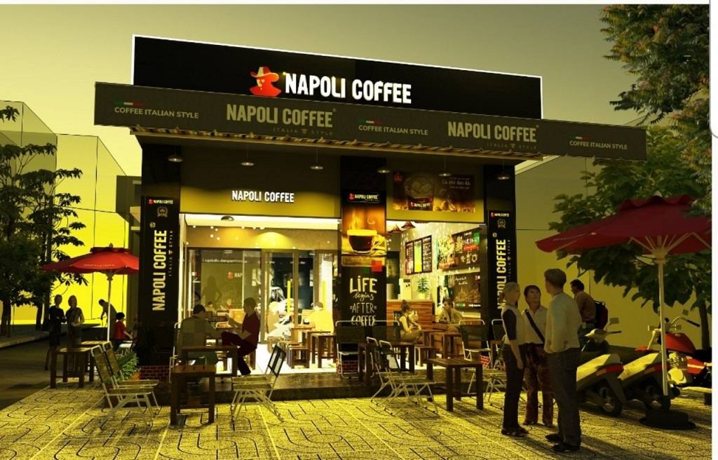 Nhượng quyền Napoli Coffee