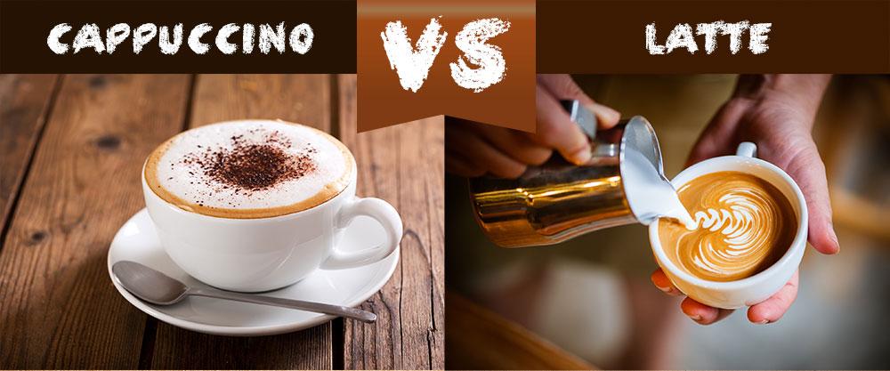 cách phân biệt Cappuccino và Latte