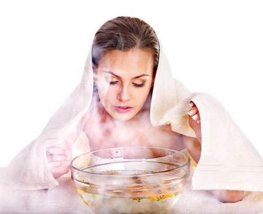 Xông nước nóng để chữa Say Cafe