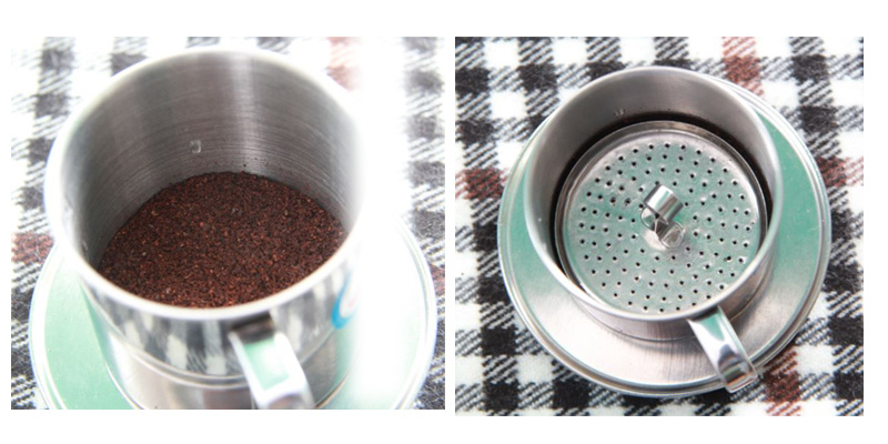 Hướng dẫn Cách Pha Cà Phê Phin 100 gram