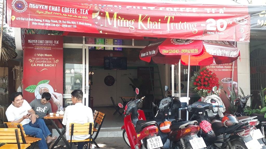 Khai Trương Quán Cafe ra sao