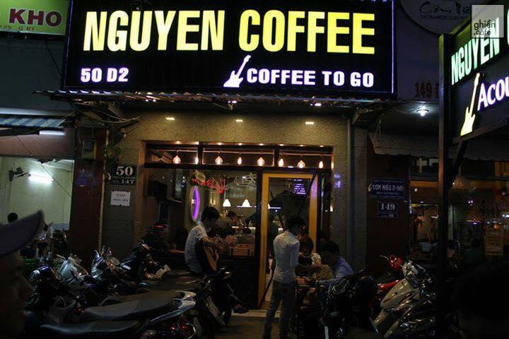 NGUYÊN COFFEE - CAFE ACOUSTIC SÀI GÒN