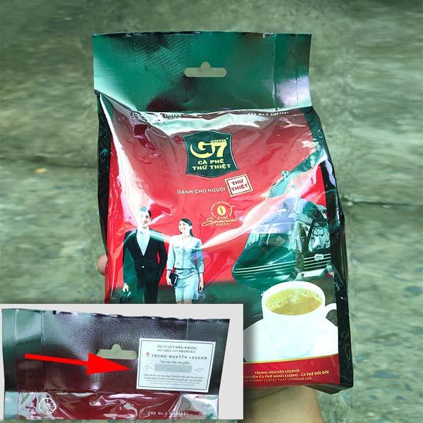 cà phê G7 3in1 chính hãng