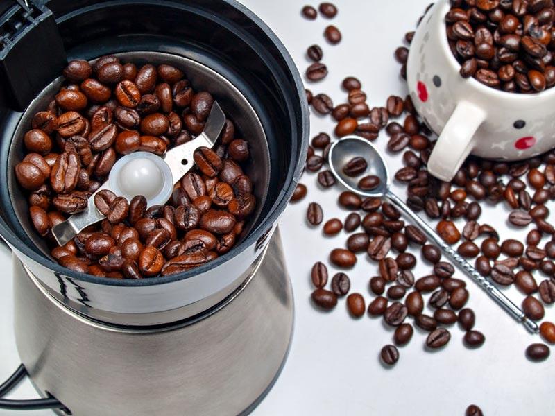 máy xay cà phê lưỡi