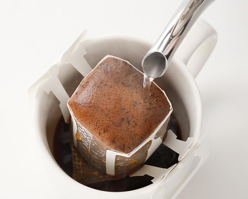 cách pha cà phê túi lọc